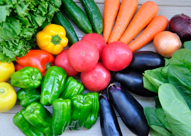 レンジで簡単!野菜玉を作ろう