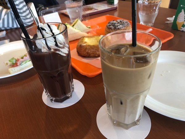 シベールの杜天童でカフェ