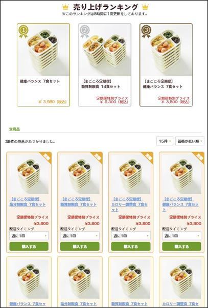 まごころケア食の注文方法3