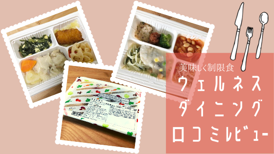 【実食】ウェルネスダイニングの口コミレビュー【美味しく制限食】